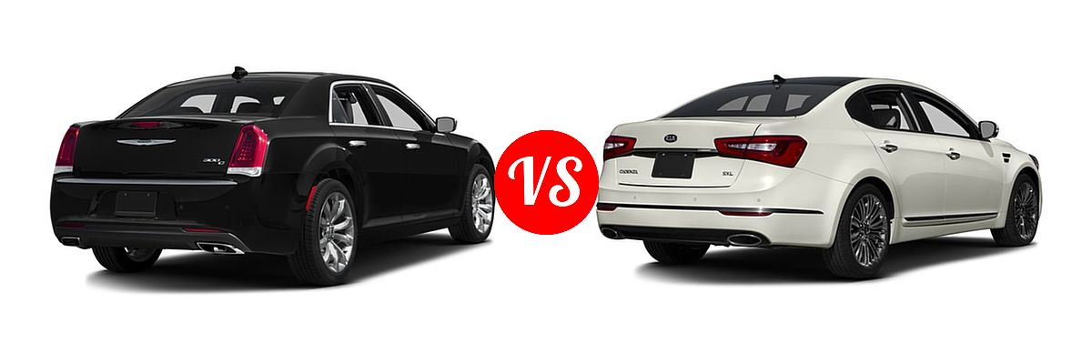 2016 Chrysler 300 vs. 2016 Kia Cadenza | Vehie.com