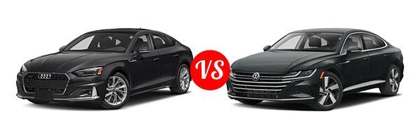 2021 Audi A5 Sportback vs. 2021 Volkswagen Arteon