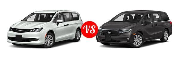 2021 Chrysler Voyager vs. 2021 Honda Odyssey