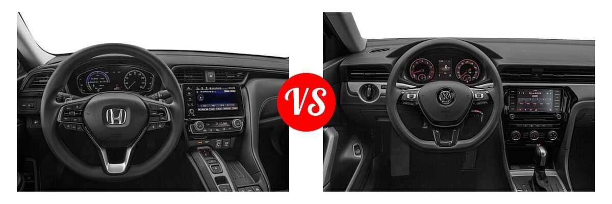 2021 Honda Insight Sedan Hybrid EX vs. 2021 Volkswagen Passat Sedan 2.0T R-Line - Dashboard Comparison