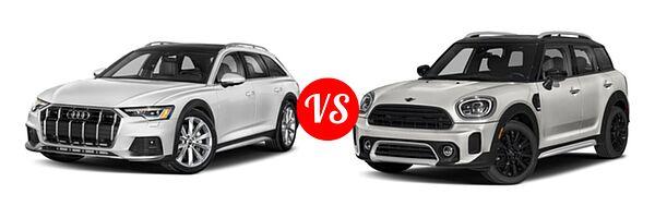 2021 Audi A6 allroad vs. 2021 MINI Countryman