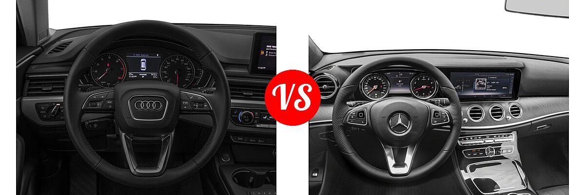 Audi Premium Plus Vs Prestige >> 2017 Audi A4 allroad vs. 2017 Mercedes-Benz E-Class Wagon ...