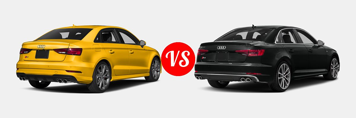 2017 Audi S3 Vs 2018 Audi S4 Vehie