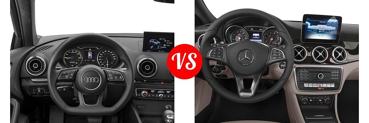 2017 Audi A3 Sportback e-tron vs. 2018 Mercedes-Benz CLA ...