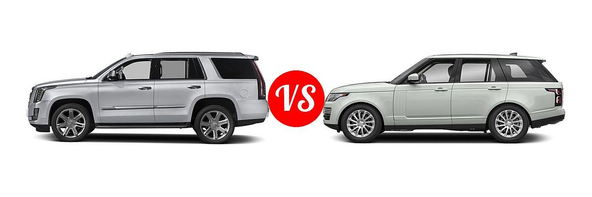 2018 Cadillac Escalade Vs 2018 Land Rover Range Rover Vehie