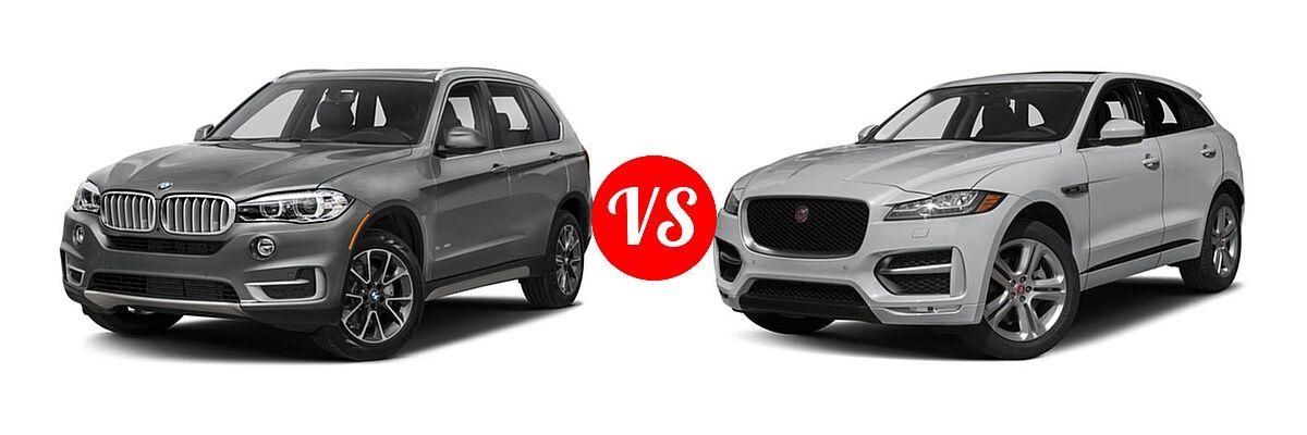 2018 bmw x5 hybrid vs 2018 jaguar f pace vehie. Black Bedroom Furniture Sets. Home Design Ideas
