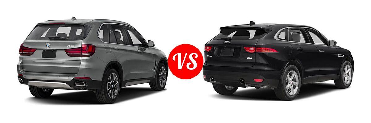 2018 bmw x5 diesel vs 2018 jaguar f pace vehie. Black Bedroom Furniture Sets. Home Design Ideas