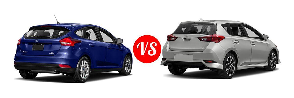 2018 Ford Focus Hatchback vs  2017 Toyota Corolla iM | Vehie com