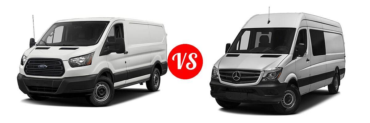 2017 Ford Transit Van vs. 2017 Mercedes-Benz Sprinter ...