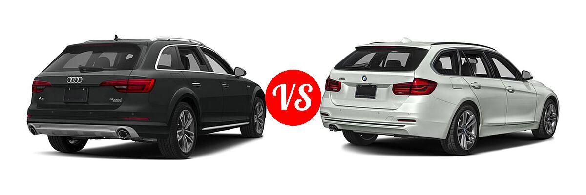 Audi Prestige Vs Premium Plus >> 2018 Audi A4 allroad vs. 2018 BMW 3 Series Wagon | Vehie