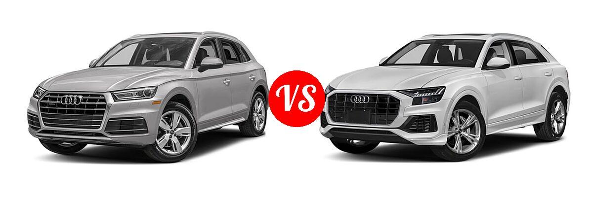 Audi Prestige Vs Premium Plus >> 2018 Audi Q5 vs. 2019 Audi Q8 | Vehie.com