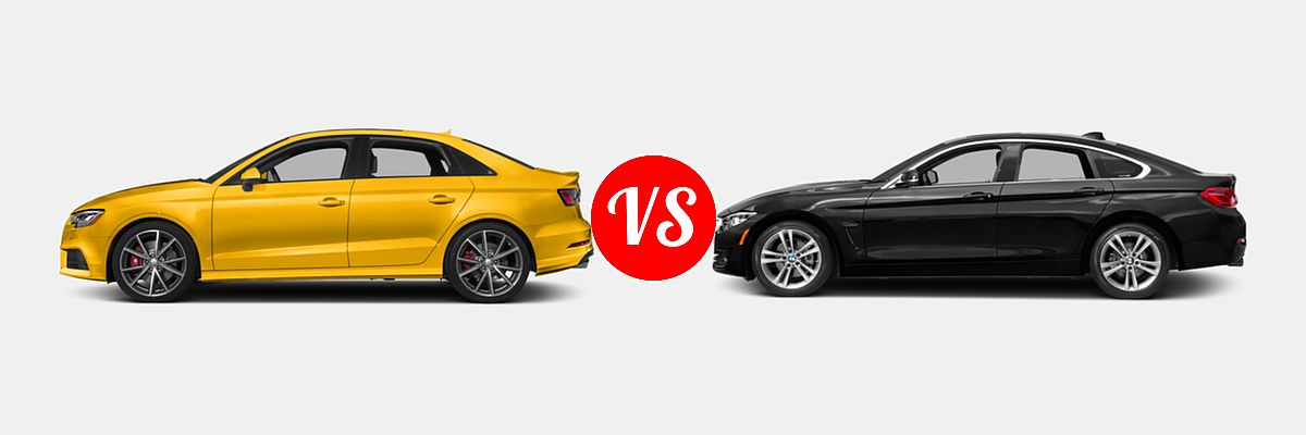 Audi S Vs BMW Series Gran Coupe Vehie - Audi s3 coupe