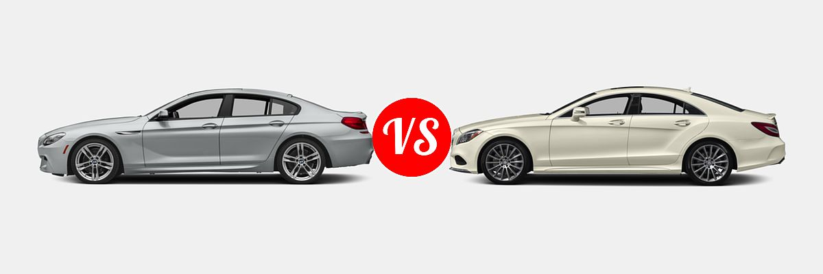 2018 Bmw 6 Series Gran Coupe Vs 2018 Mercedes Benz Cls Class