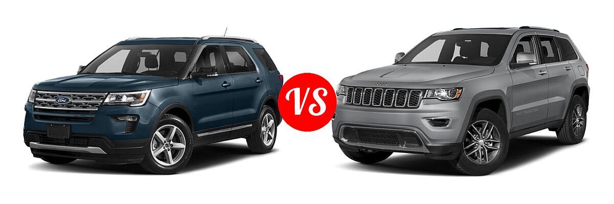 2019 Ford Explorer Vs 2019 Jeep Grand Cherokee Vehie Com