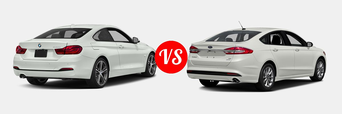 2019 Bmw 4 Series Coupe Vs 2017 Ford Fusion Vehie