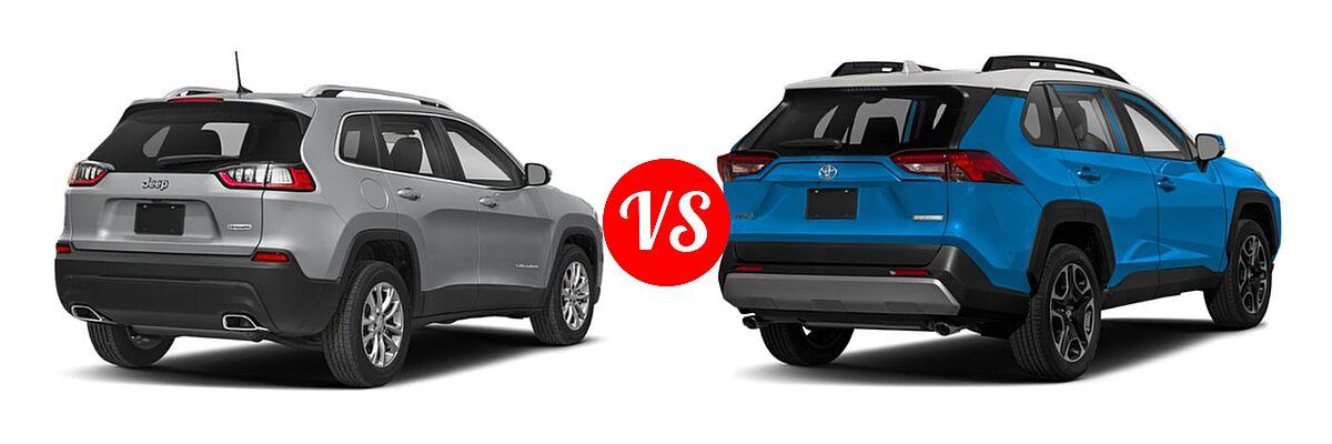 Difference Between Rav4 Le And Xle >> 2019 Jeep Cherokee vs. 2019 Toyota RAV4 | Vehie.com