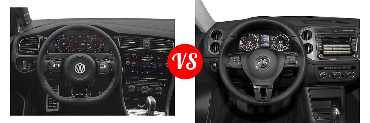 2019 Volkswagen Golf R vs  2016 Volkswagen Tiguan | Vehie com