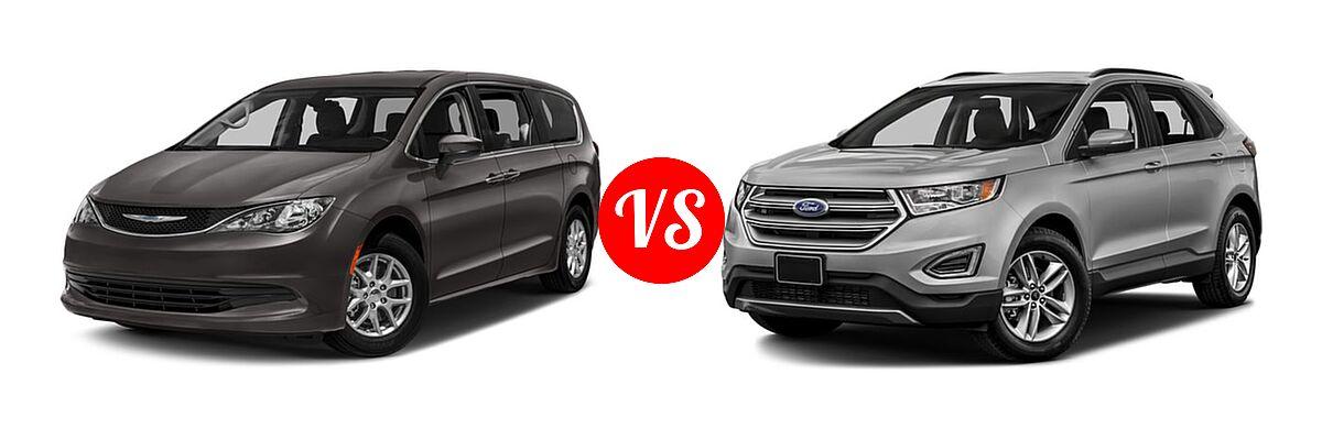 Ford Edge Front Left Comparison