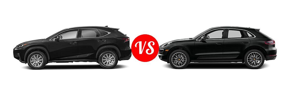 2018 Lexus Nx 300 Suv Vs 2017 Porsche Macan Gts Turbo