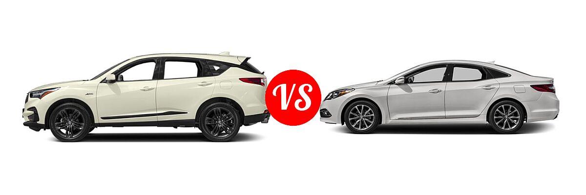 2019 Acura RDX vs. 2017 Hyundai Azera   Vehie.com