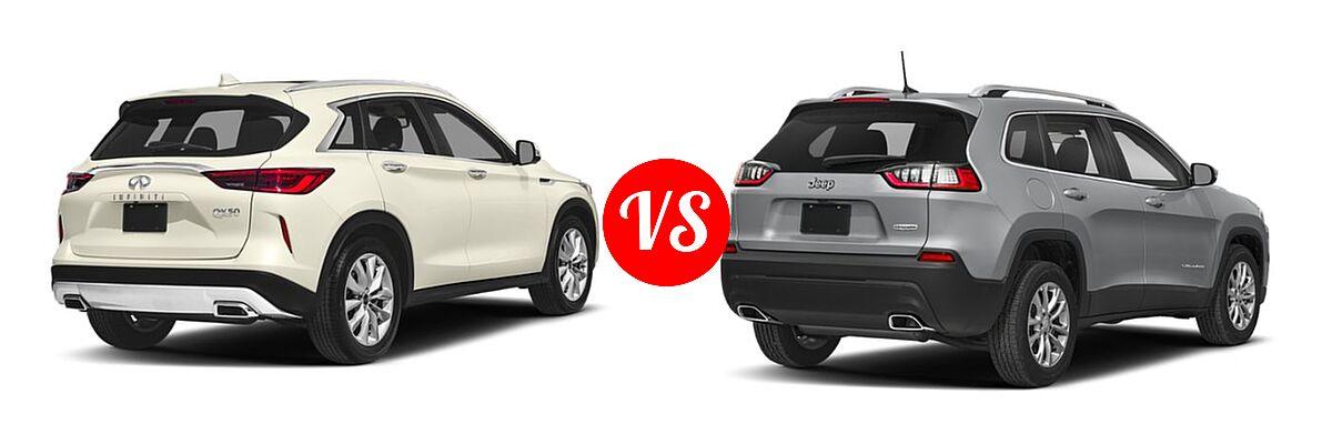 2019 INFINITI QX50 vs. 2019 Jeep Cherokee   Vehie.com