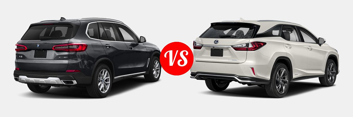 2019 Bmw X5 Vs 2019 Lexus Rx 450hl Vehie Com