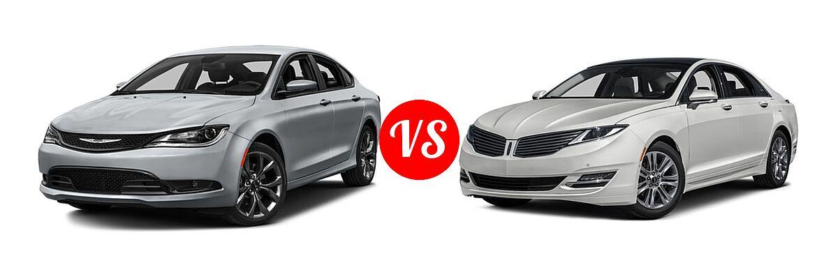 2017 Chrysler 200 Vs 2016 Lincoln Mkz