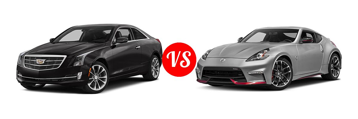 2017 Cadillac ATS Coupe vs. 2017 Nissan 370Z Coupe NISMO ...