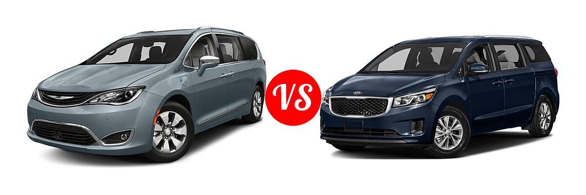 2018 Chrysler Pacifica Hybrid Minivan Limited Touring L Plus Vs