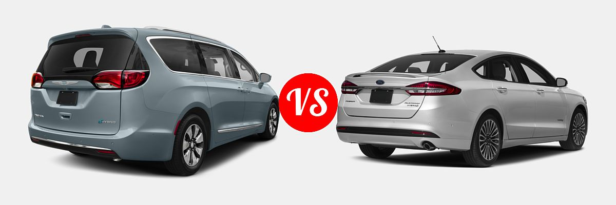 2018 Chrysler Pacifica Hybrid Minivan Limited Touring L Plus Vs