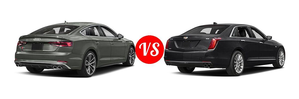 2018 Audi S5 Hatchback Vs 2018 Cadillac Ct6 Vehie