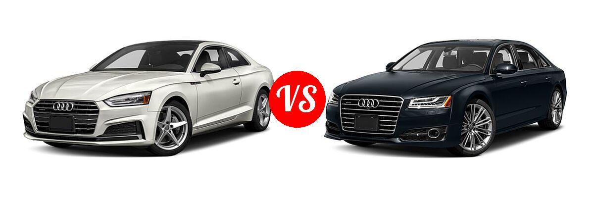 2019 Audi A5 Coupe Vs 2017 Audi A8 Vehie Com