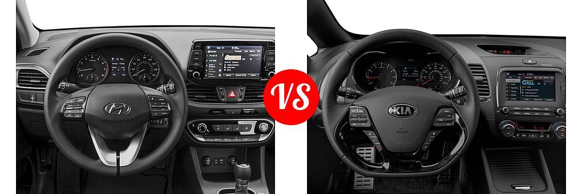 2018 Hyundai Elantra GT vs. 2018 Kia Forte Hatchback ...