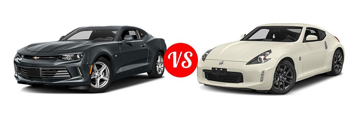 Camaro 1Ss Vs 2Ss >> 2018 Chevrolet Camaro Coupe vs. 2018 Nissan 370Z Coupe ...