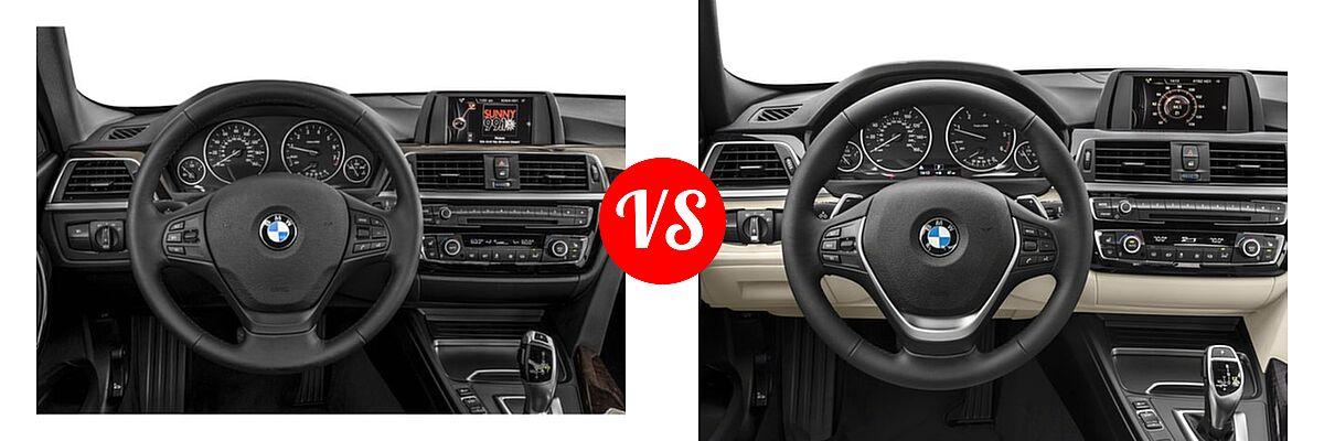 2018 BMW 3 Series Sedan 320i / 320i xDrive vs. 2018 BMW 3 Series Sedan Diesel 328d / 328d xDrive - Dashboard Comparison
