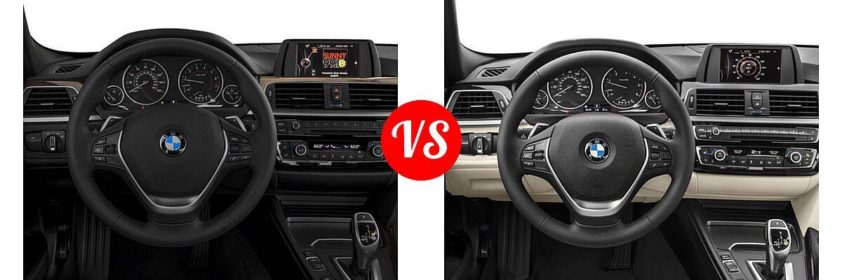 2018 BMW 3 Series Sedan 330i / 330i xDrive vs. 2018 BMW 3 Series Sedan Diesel 328d / 328d xDrive - Dashboard Comparison