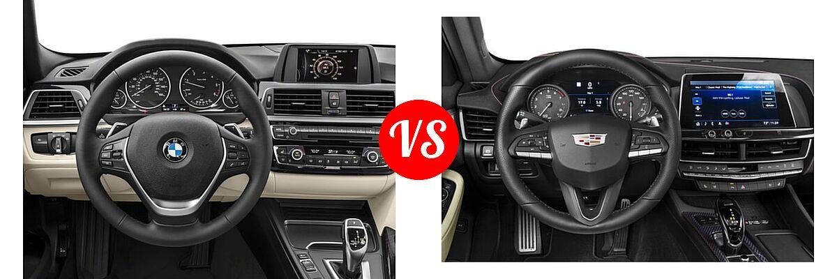 2018 BMW 3 Series Sedan Diesel 328d / 328d xDrive vs. 2020 Cadillac CT5 Sedan Luxury / Premium Luxury / Sport - Dashboard Comparison