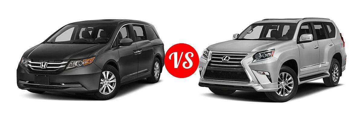 2017 Honda Odyssey Minivan Ex L Vs 2018 Lexus Gx 460 Suv