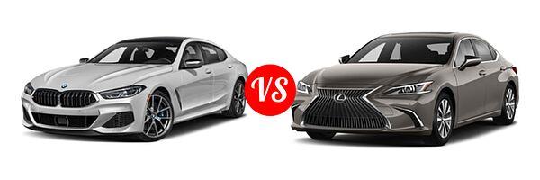 2021 BMW 8 Series M850i Gran Coupe vs. 2021 Lexus ES 250