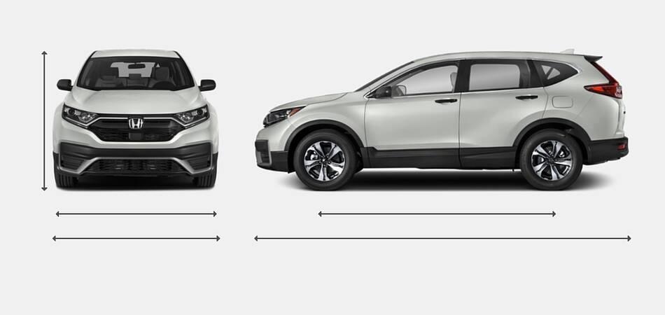 2021 Honda CR-V Exterior Dimensions