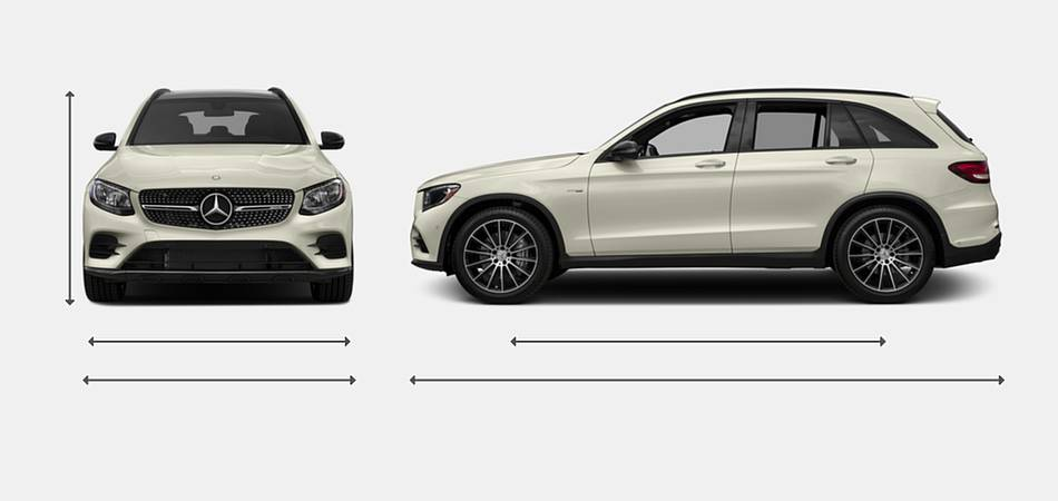 2017 mercedes benz glc class amg glc 43 suv vehie for 2017 mercedes benz glc class dimensions