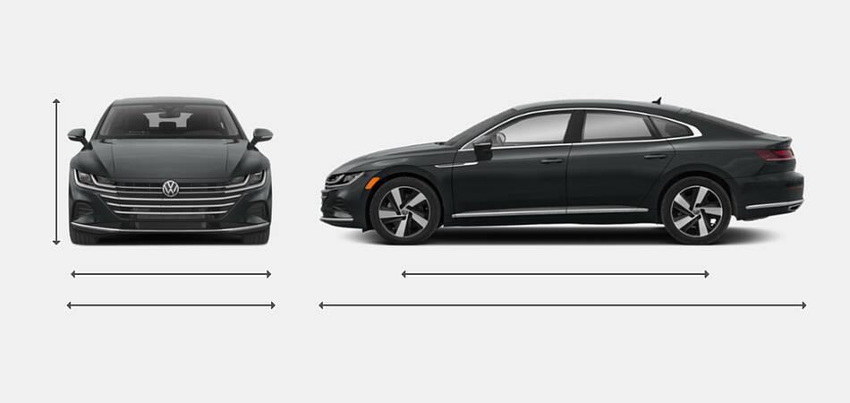 2021 Volkswagen Arteon Exterior Dimensions