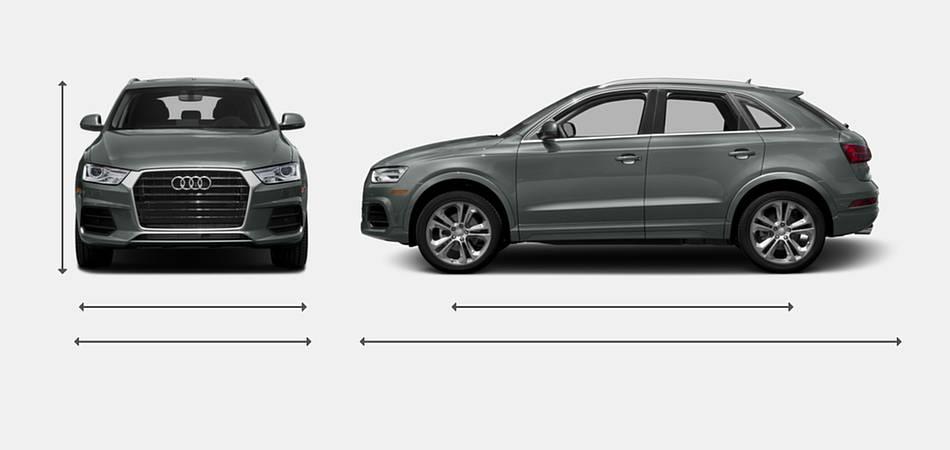 2016 Audi Q3 Exterior Dimensions