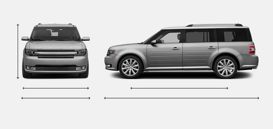 Ford Flex Exterior Dimensions