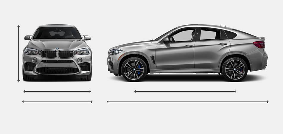 2017 BMW X6 M Exterior Dimensions