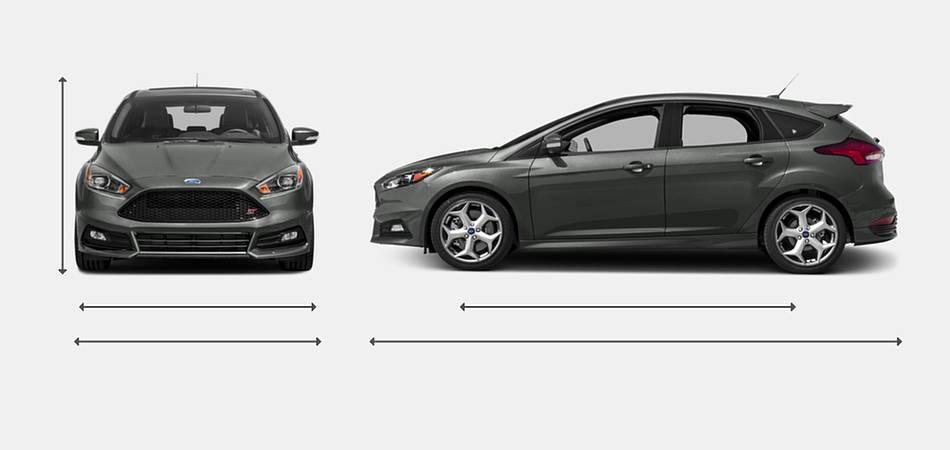 2018 Ford Focus St Hatchback Vehie