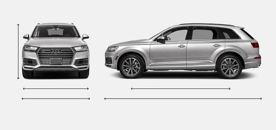 2019 Audi Q7 Exterior Dimensions