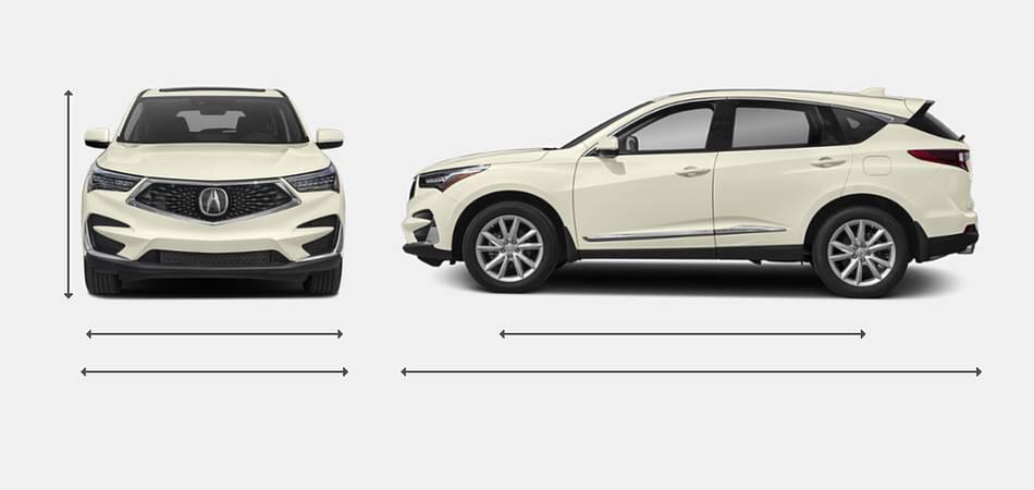 2019 Acura RDX Exterior Dimensions