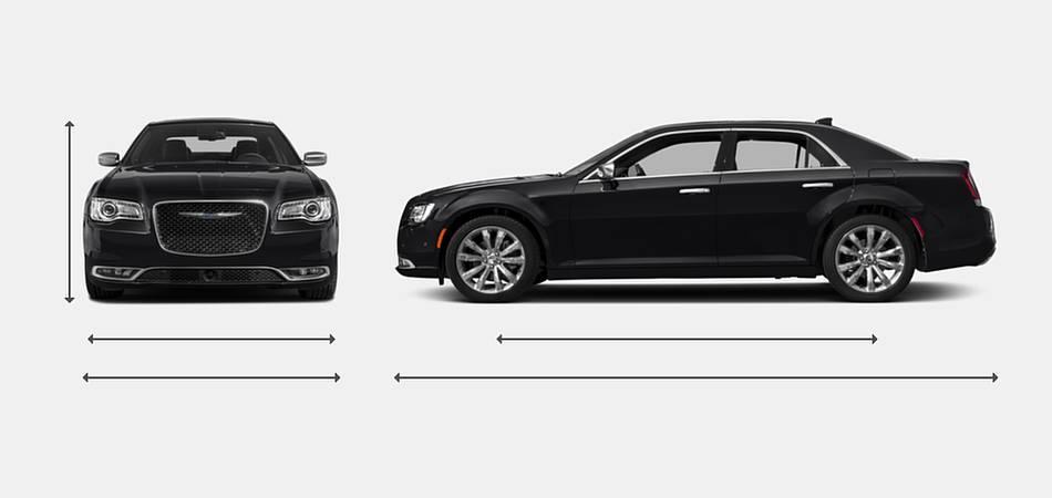 2017 Chrysler 300 Exterior Dimensions