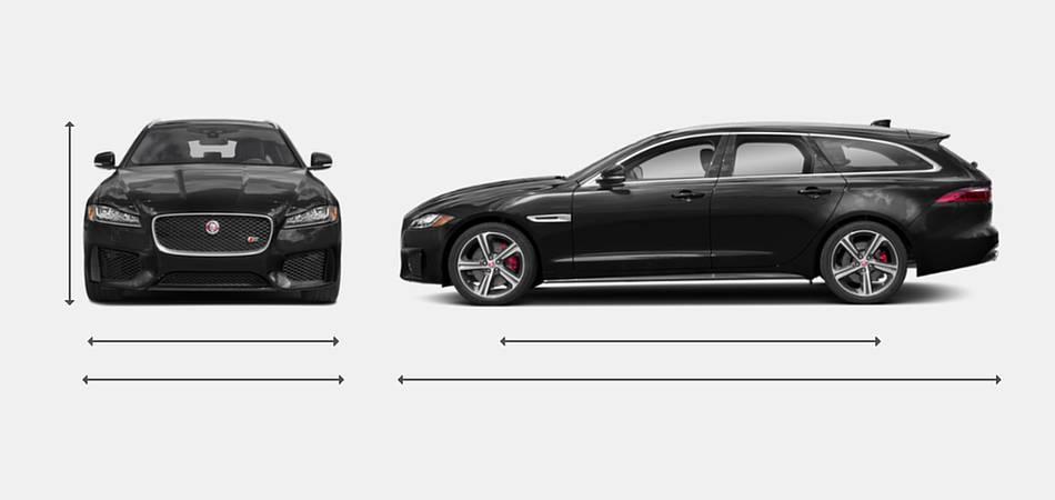 2019 Jaguar XF Sportbrake Exterior Dimensions